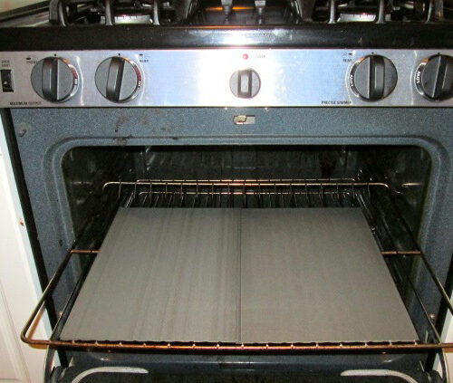 The GrateGriddle performs really well in the oven
