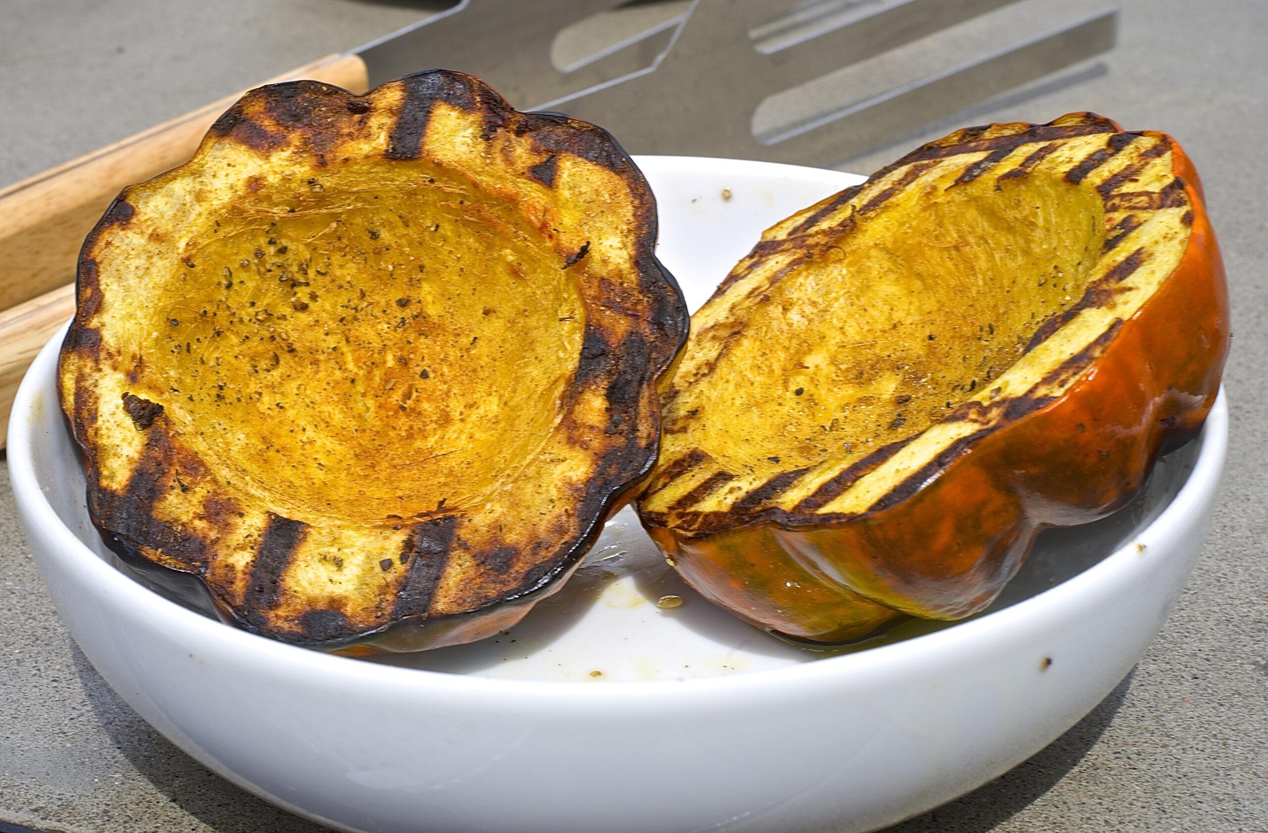 Grilled Butternut, Acorn Squash or Pumpkin