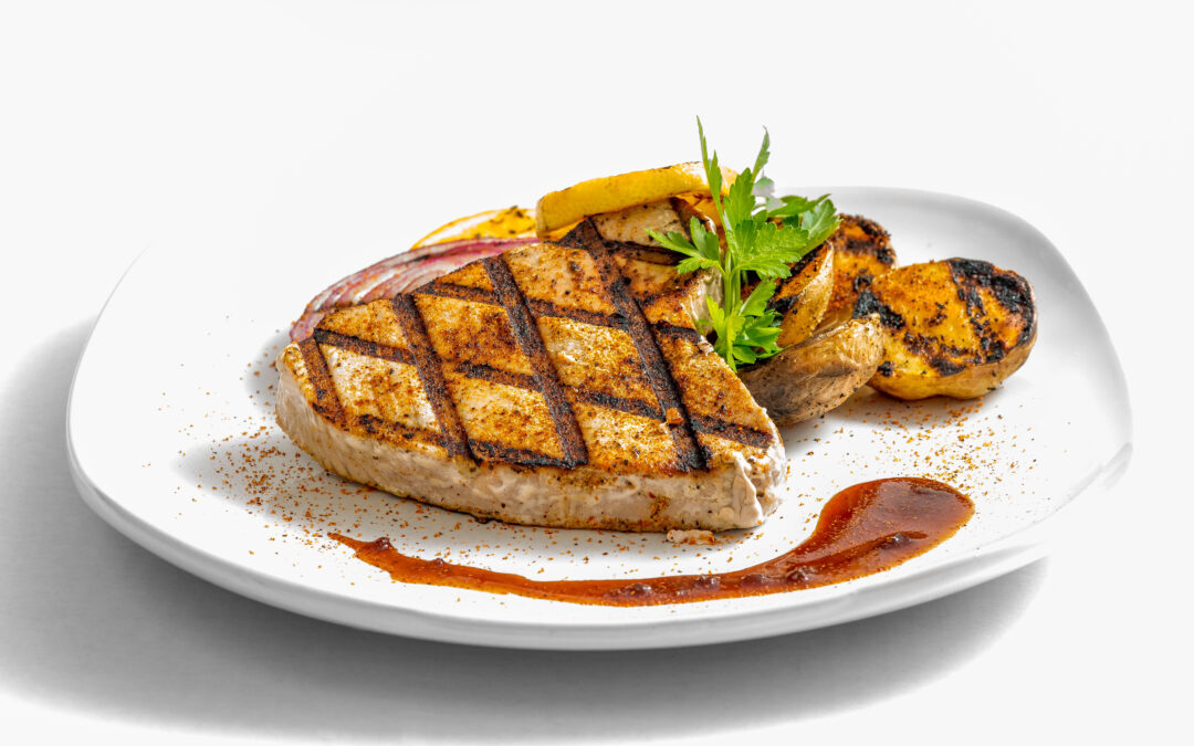 Grilled Rock Star Tuna