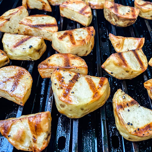 Better Than Bobby Flay Grilled Potatoes