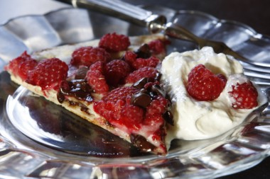Grilled Chocolate Raspberry Yummy