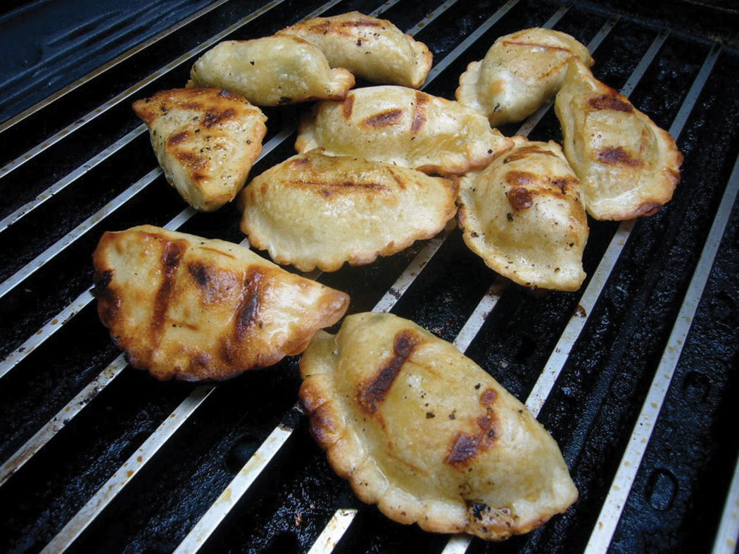 Grilled Potstickers and More!