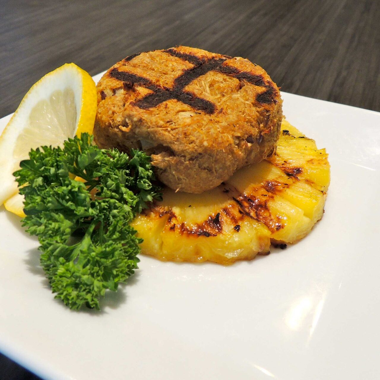 Grate Grilled Crab Cakes