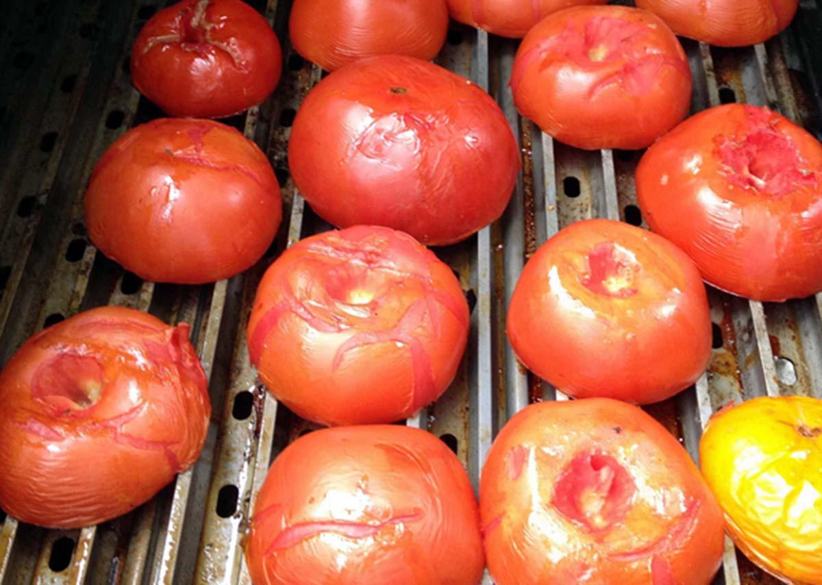 Meathead's Grilled Marinara Sauce