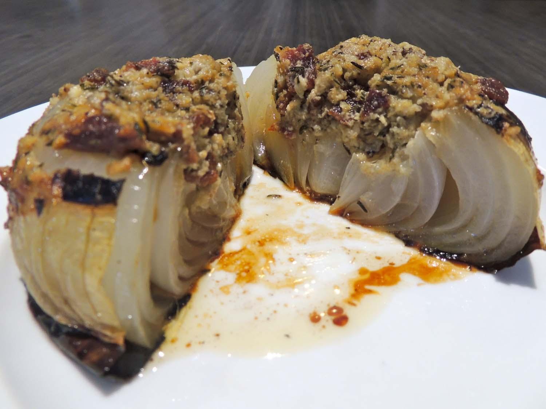 Bacon and Blue Cheese Stuffed Vidalia Onions