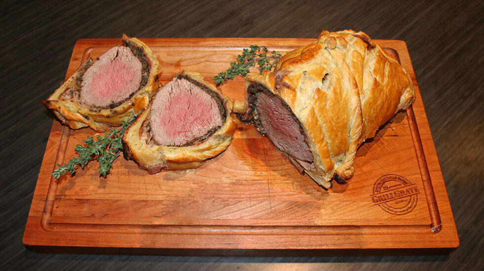 Test Driving A New Holiday Recipe- Grate Beef Wellington