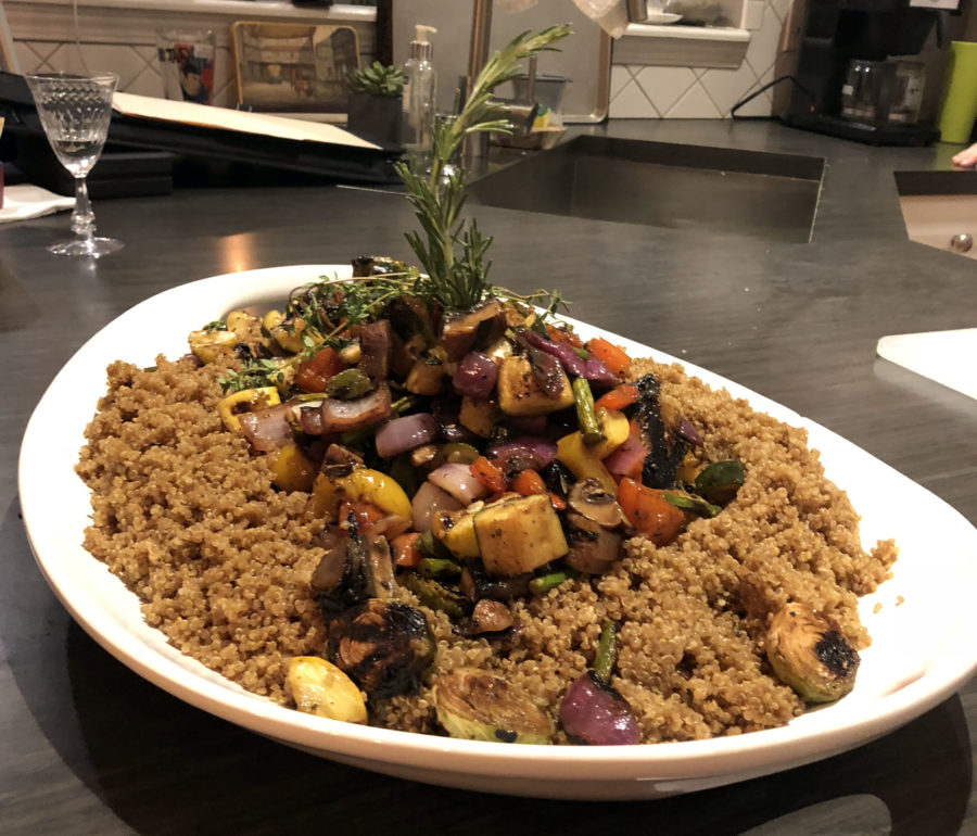 Grilled Vegetable and Toasted Quinoa Salad