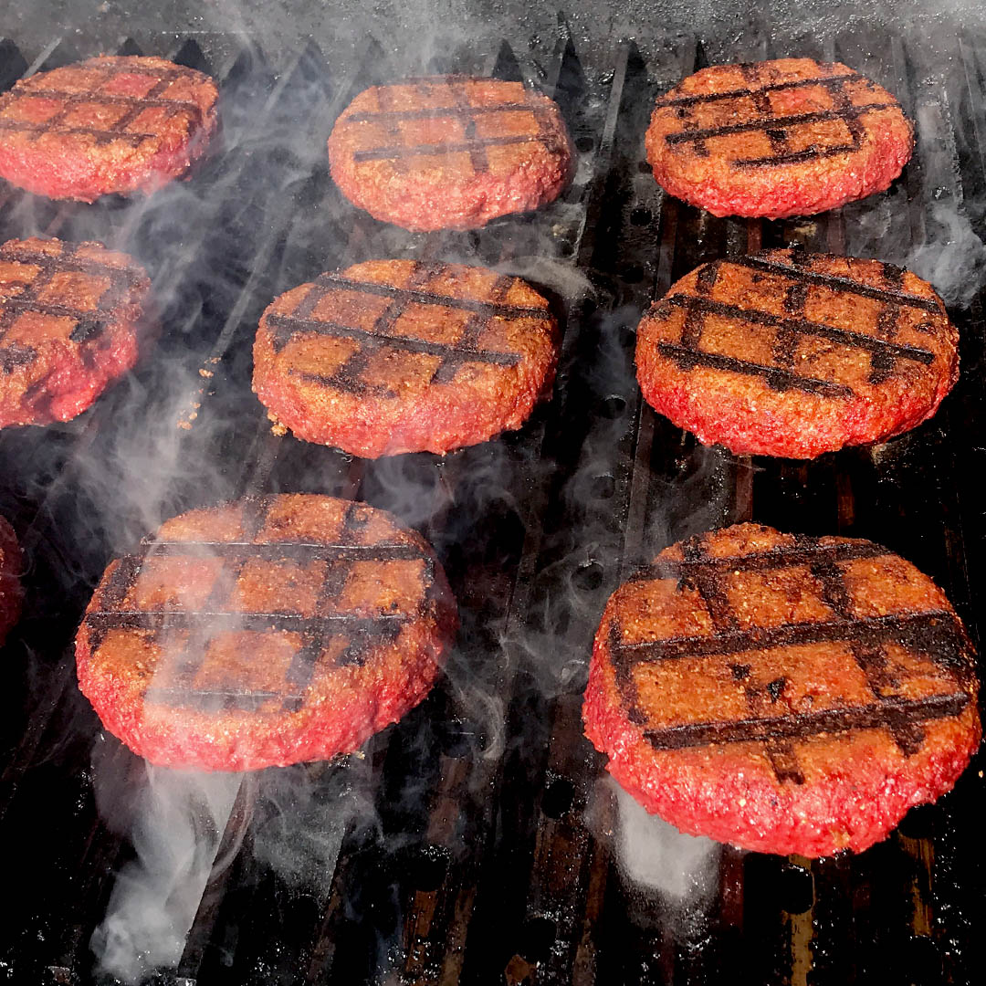 Grilled Beyond Meat Burgers Grillgrate