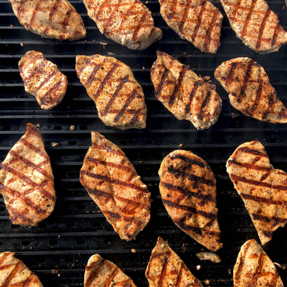 Quick and Easy Grilled Chicken Breasts