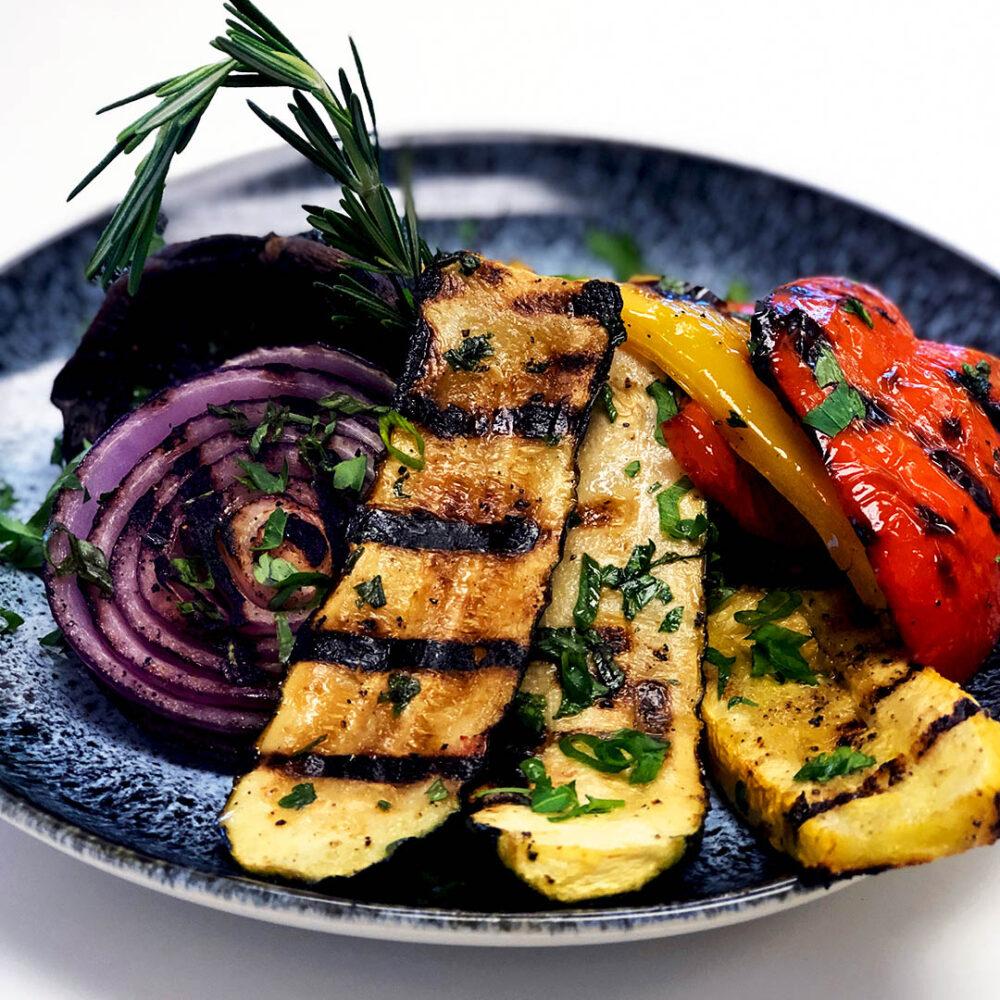 Simple Grilled Vegetables