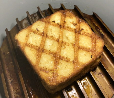 Six Minute Grilled Cheese