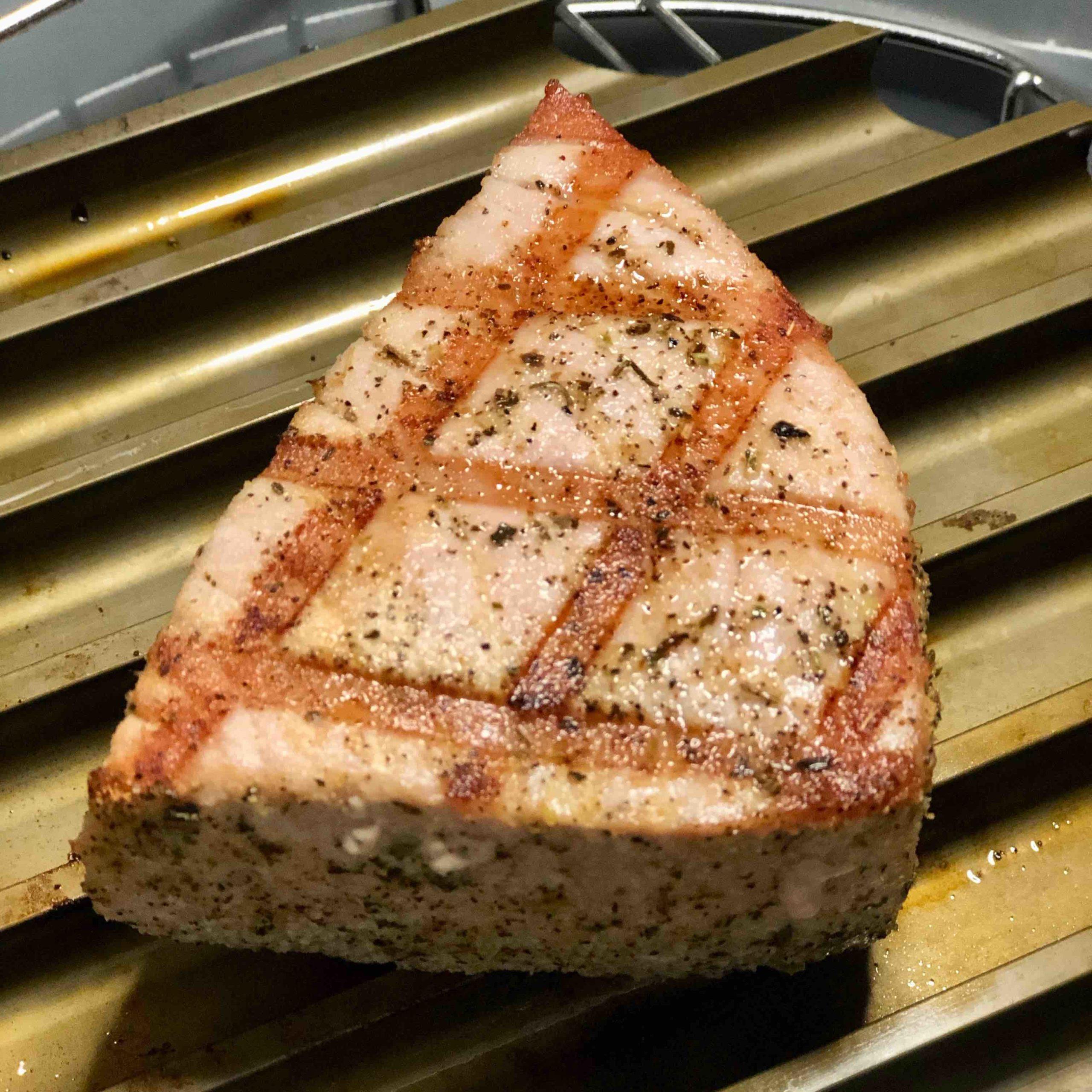 Air Fryer Grilled Ahi Tuna