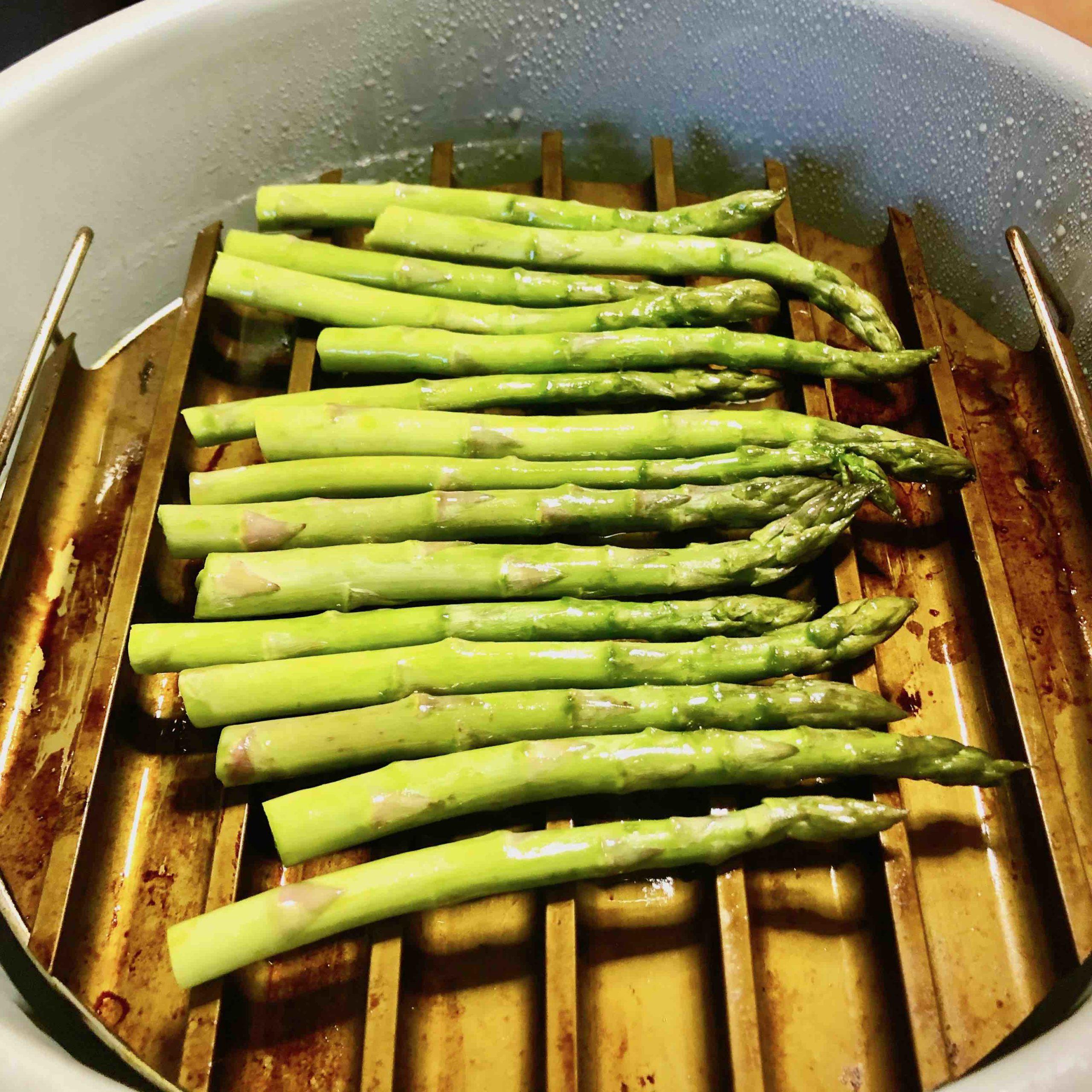 Air Fryer Grilled Asparagus