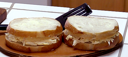 Grilled Crab and Cheese