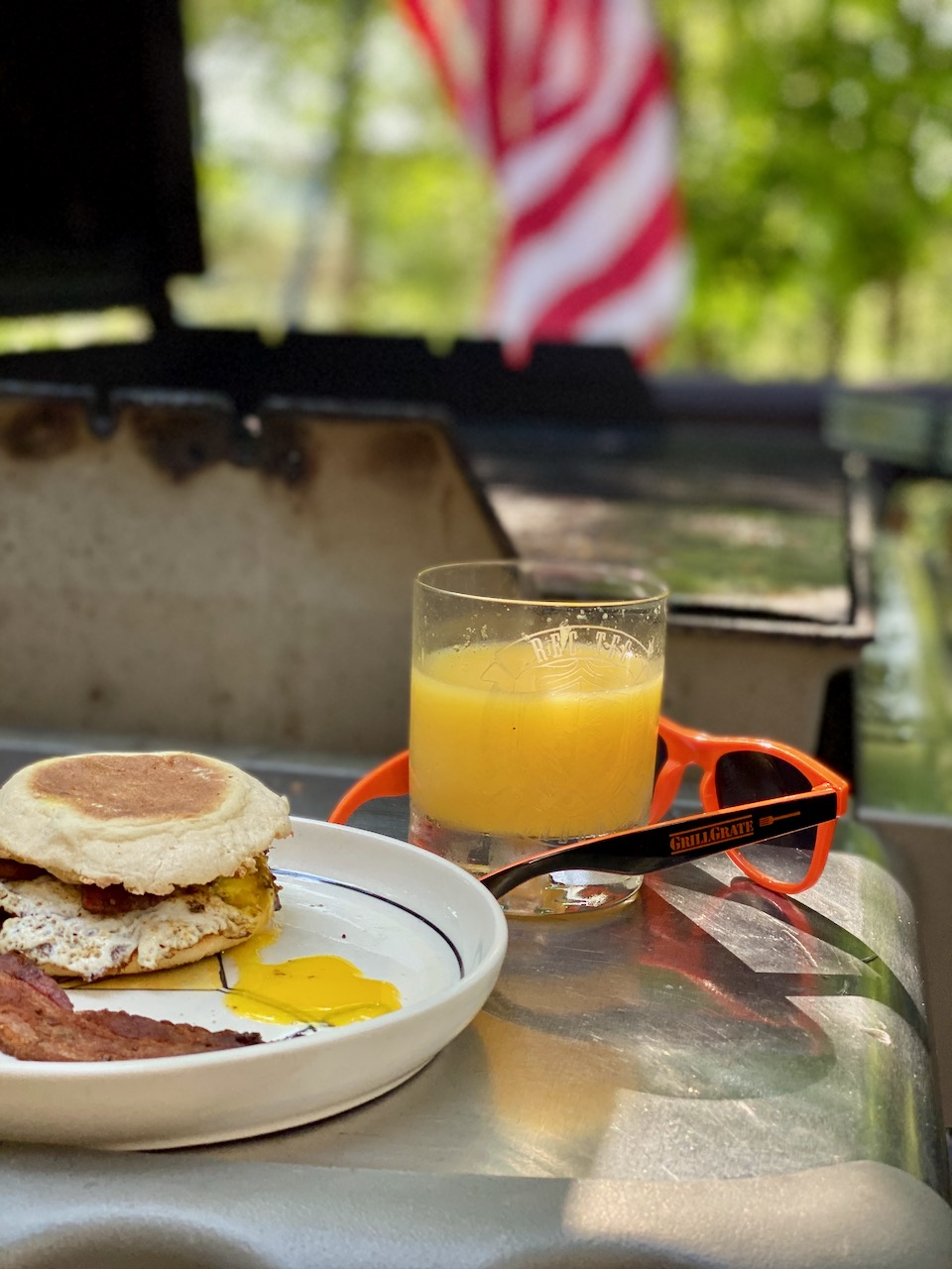 Grill Your Favorite Breakfast Sandwich with GrillGrates