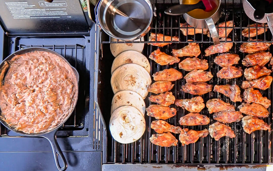 4 Smokey Chicken Wings Recipes for Super Bowl Grilling