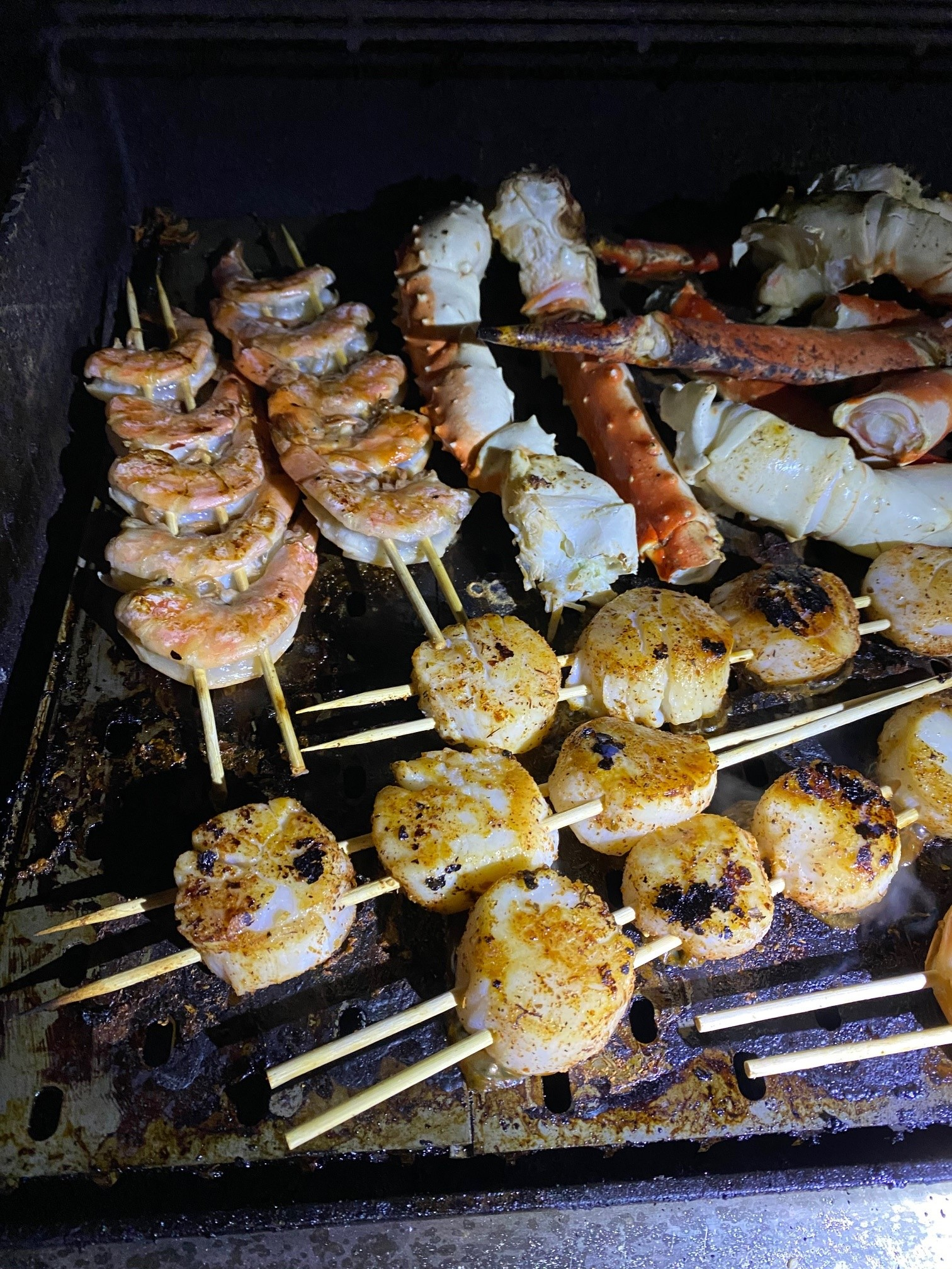 Seafood Medley on the Flat Side
